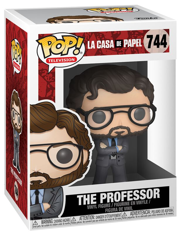 Figura Vinilo The Professor 744