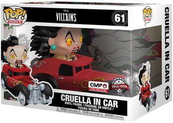 Figura Vinilo Cruella in Car POP Rides 61
