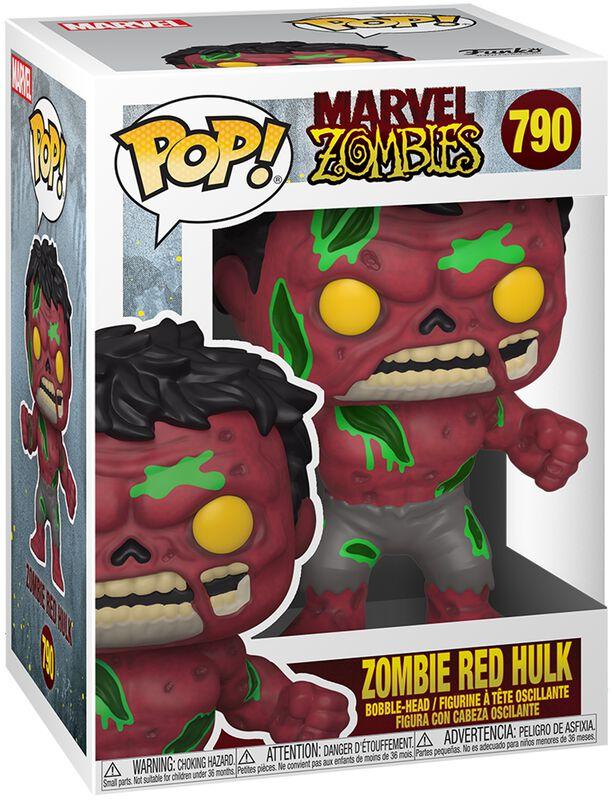 Figura vinilo Zombies - Zombie Red Hulk 790