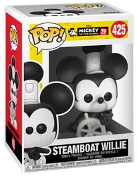 Figura Vinilo Mickey's 90th Anniversary - Steamboat Willie 425