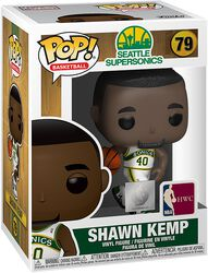 Seattle SuperSonics - Figura Vinilo Shawn Kemp 79