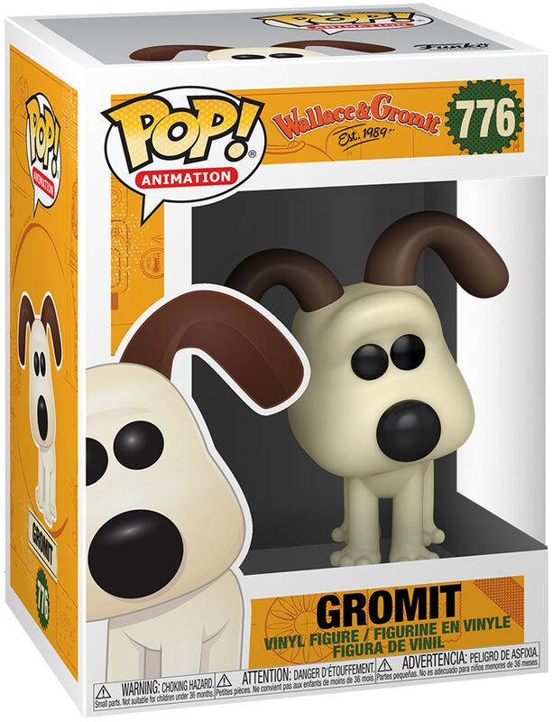 Wallace & Gromit Figura vinilo Gromit 776