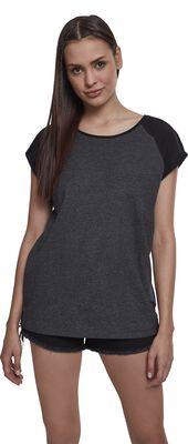 Camiseta de chica Raglan