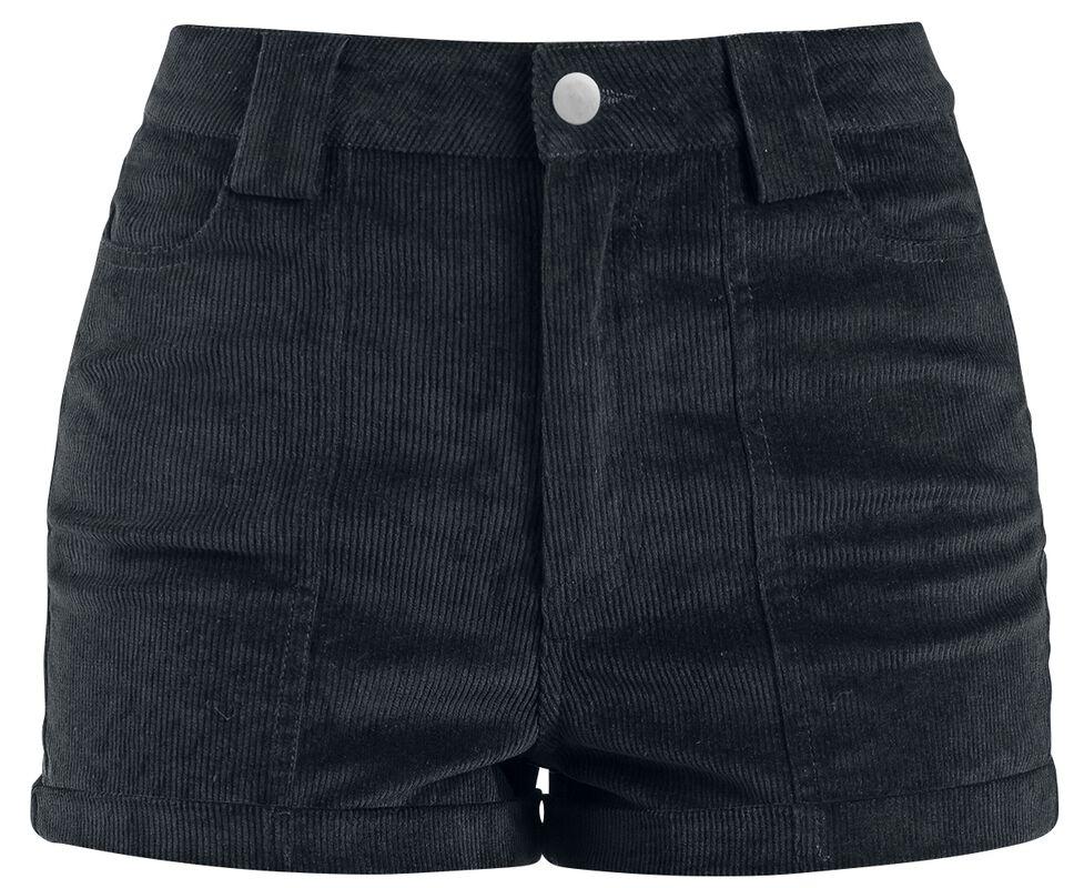 Pantalón ultra corto pana