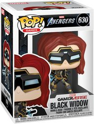 Figura Vinilo Black Widow (Glow in the Dark) (posible Chase) 630