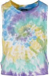 Ladies Short Tie Dye Loose