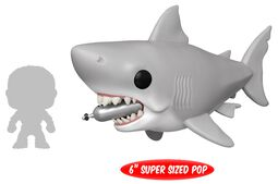 Figura Vinilo Jaws - Great White Shark with diving Tank (Oversized) 759