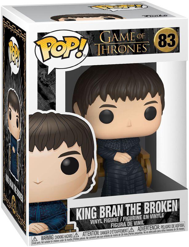 Figura Vinilo King Bran The Broken 83
