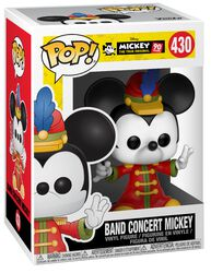 Figura Vinilo Mickey's 90th Anniversary - Band Concert Mickey430