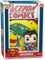 Figura vinilo Superman (Pop! Comic Covers) 01