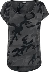 Camiseta de camuflaje