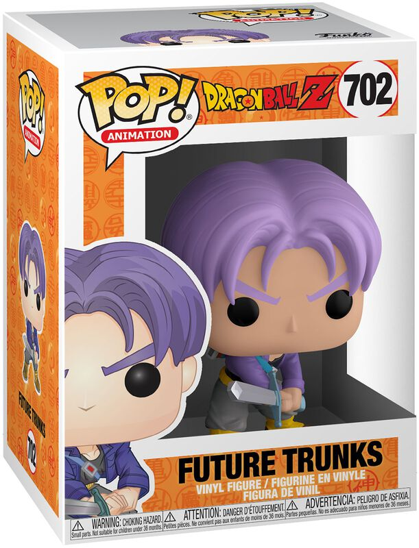 Figura vinilo Z - Future Trunks 702