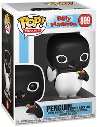 Billy Madison Figura Vinilo Penguin with Cocktail 899