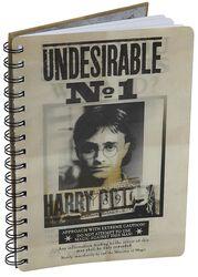 Sirius & Harry Cuaderno 3D