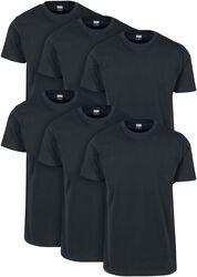 Camiseta básica 6-Pack