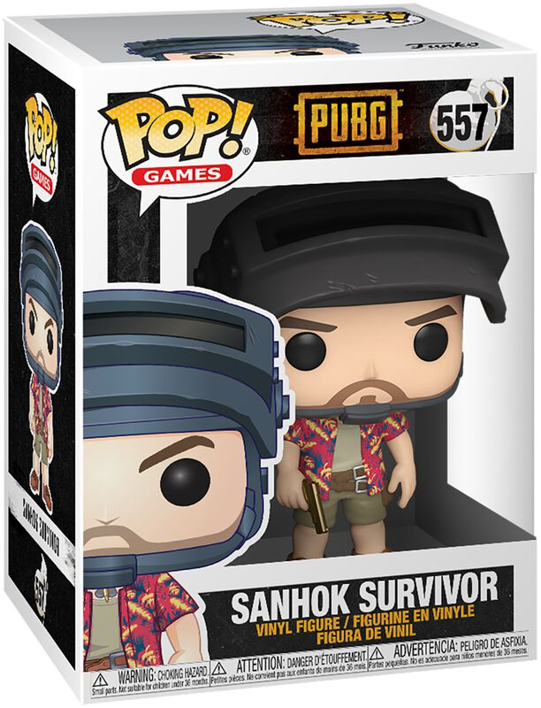 Sanhok Survivor Vinyl Figure 557