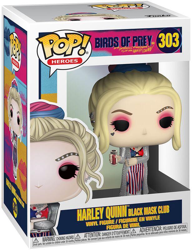 Figura Vinilo Harley Quinn Black Mask Club 303