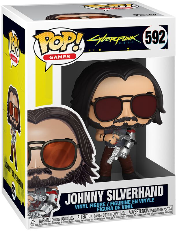 Johnny Silverhand Vinyl Figure 592