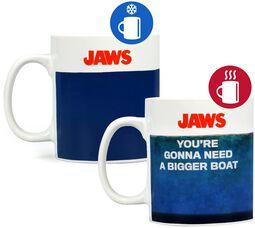 Jaws - Tasse mit Thermoeffekt