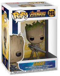 Figura Vinilo Infinity War - Groot 293