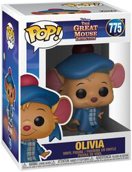 Basil the Great Mouse Detective Figura vinilo Olivia 775