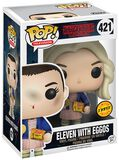 Figura Vinilo Eleven with Eggos (posible Chase ) 421