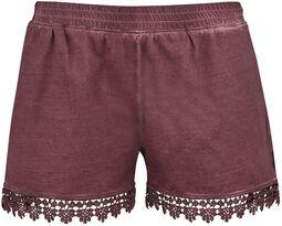 Pantalón corto con encaje de Black Premium
