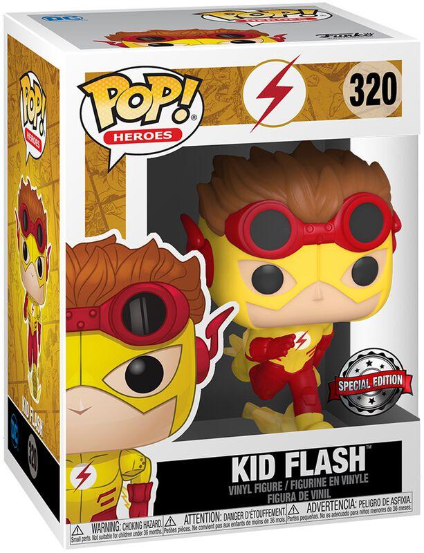 Figura vinilo Kid Flash (posible Chase) 320
