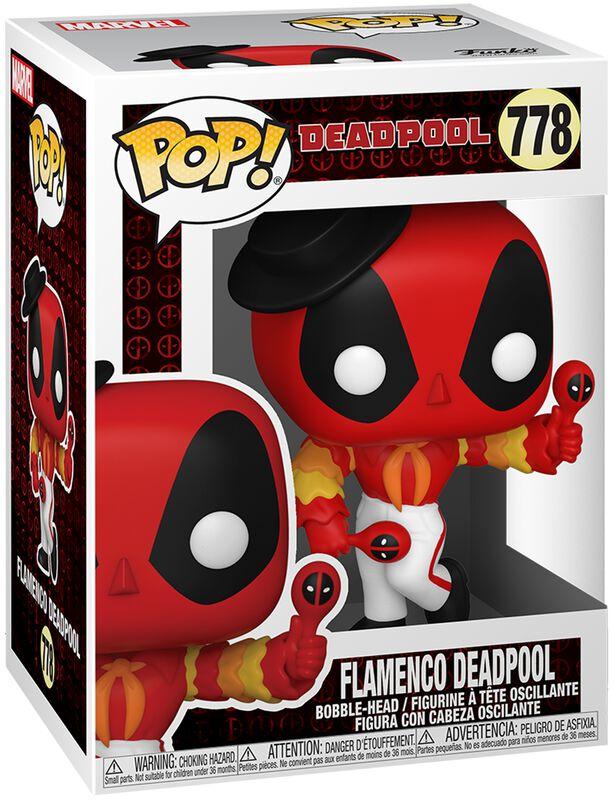 Figura vinilo 30th Anniversary - Flamenco Deadpool 778