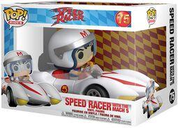Speed Racer Figura Vinilo Speed Racer With Mach 5  (POP Rides) 75