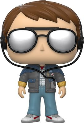 Figura vinilo Marty with Glasses 958