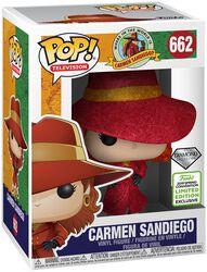 Where in the World is Carmen Sandiego?  Figura Vinilo ECCC 2019 - Carmen Sandiego 662