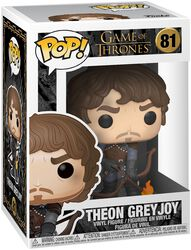 Figura Vinilo Theon Grey Joy 81