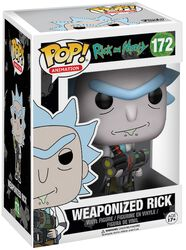 Figura Vinilo Weaponized Rick (posible Chase) 172