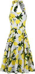 Vestido Lemon Print Swing
