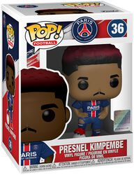 Football Figura Vinilo Paris Saint-Germain - Presnel Kimpembe 36