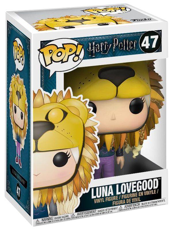 Figura Vinilo Luna Lovegood con Cabeza de León 47