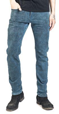 Jared - Vaqueros azul-gris con lavado individual