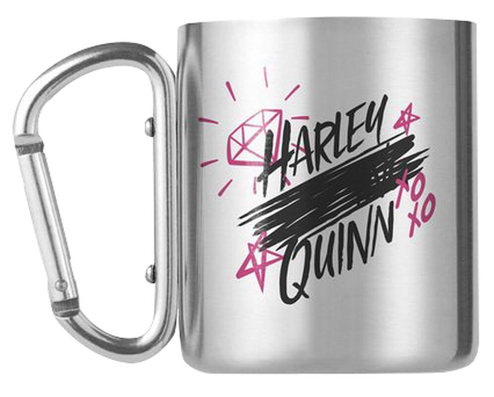 Harley Quinn - Taza con mosquetón