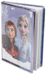 Anna and Elsa - Cuaderno con nieve