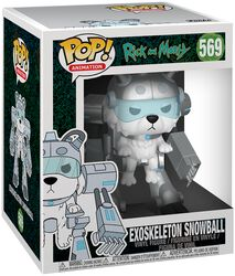 Figura Vinilo Exoskeleton Snowball (Oversized) 569