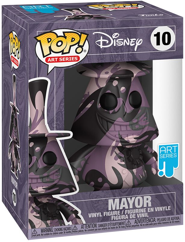 Mayor (Art Series) (including protective case) Vinyl Figure 10