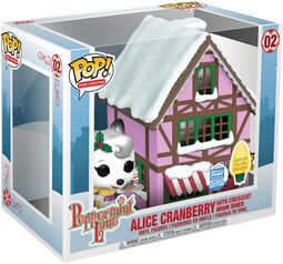 Peppermint Lane - Alice Cranberry with Crescent Moon Diner (Pop! Town) (Funko Shop Europe) Vinyl Figure 02