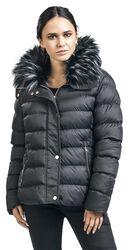 Fur Collar Short Puffer
