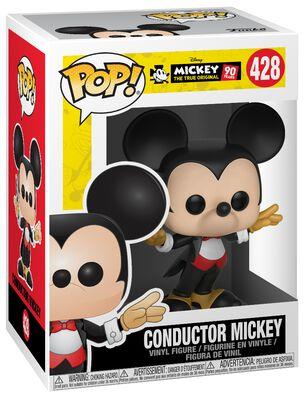 Figura Vinilo Mickey's 90th Anniversary - Conductor Mickey 428