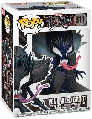 Figura Vinilo Venomized Groot 511