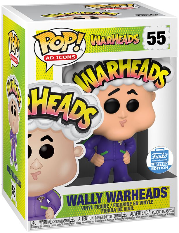 Figura vinilo Wally Warheads (Funko Shop Europe) 55