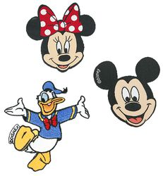 Mickey Mouse & Friends Parches