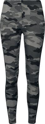 Leggings camuflaje con raya