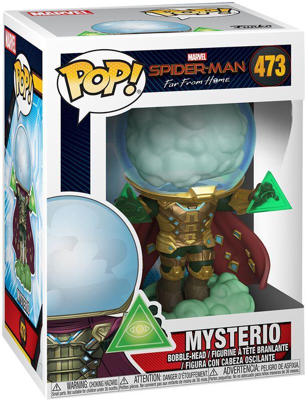 Figura Vinilo Far From Home - Mysterio 473